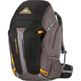 ハイシエラ メンズ バックパック・リュックサック バッグ Pathway 50L Hiking Pack Black/Slate/Gold