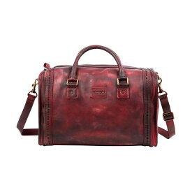 オールドトレンド メンズ ハンドバッグ バッグ Cambria Satchel Rusty Red