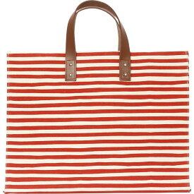 ロンバスキャンバス メンズ トートバッグ バッグ Manhattan Tote Karma Stripe Red
