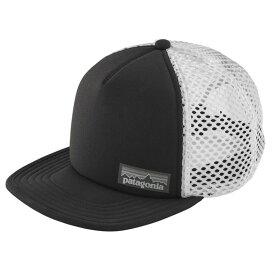 パタゴニア メンズ 帽子 アクセサリー Patagonia Duckbill Trucker Hat Black