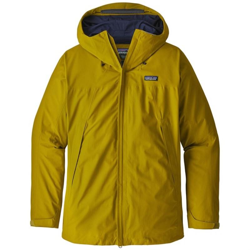 パタゴニア メンズ ジャケット・ブルゾン アウター Patagonia Departer GORE-TEX Jacket Textile Green