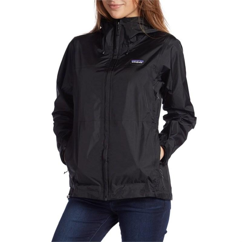 パタゴニア レディース ジャケット・ブルゾン アウター Patagonia Torrentshell Jacket - Women's Black