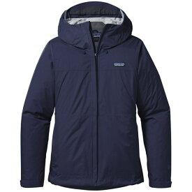 パタゴニア レディース ジャケット・ブルゾン アウター Patagonia Torrentshell Jacket - Women's Navy Blue