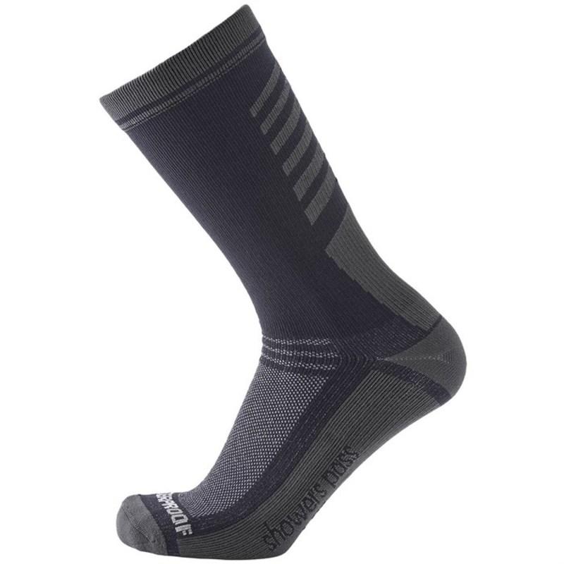 シャワーパス メンズ 靴下 アンダーウェア Showers Pass Crosspoint Lightweight Waterproof Crew Socks Grey