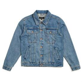 ブリクストン レディース ジャケット・ブルゾン アウター Brixton Cable Denim Jacket - Women's Faded Indigo