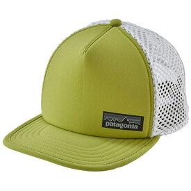 パタゴニア メンズ 帽子 アクセサリー Patagonia Duckbill Trucker Hat Folios Green