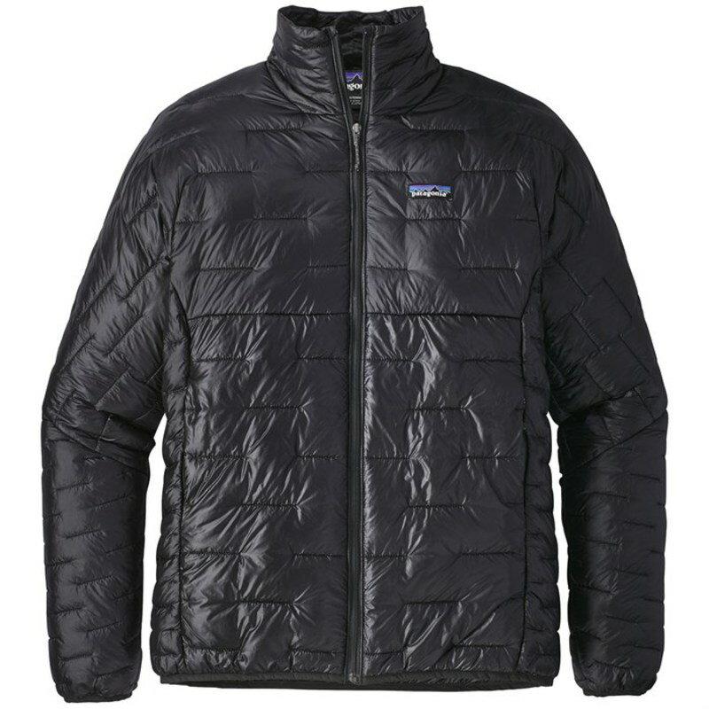パタゴニア メンズ ジャケット・ブルゾン アウター Patagonia Micro Puff? Jacket Black