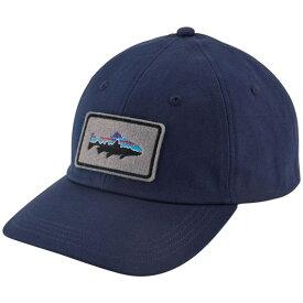 パタゴニア メンズ 帽子 アクセサリー Patagonia Fitz Roy Trout Patch Trad Cap Classic Navy