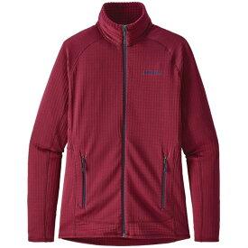 パタゴニア レディース ジャケット・ブルゾン アウター Patagonia R1? Full-Zip Fleece Jacket - Women's Arrow Red