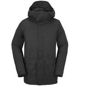 ボルコム メンズ ジャケット・ブルゾン アウター Volcom Utilitarian Jacket Black