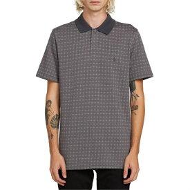 ボルコム メンズ Tシャツ トップス Volcom Wowzer Plus Polo Shirt Pewter