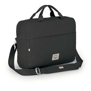 オスプレー メンズ スーツケース バッグ Osprey Arcane Brief Bag Stonewash Black
