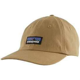 パタゴニア メンズ 帽子 アクセサリー Patagonia P-6 Label Trad Cap Classic Tan