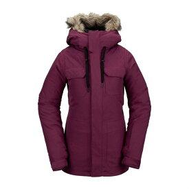 ボルコム レディース ジャケット・ブルゾン アウター Volcom Shadow Insulated Jacket - Women's Vibrant Purple