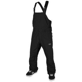 ボルコム メンズ カジュアルパンツ ボトムス Volcom 3L GORE-TEX Bib Pants Black