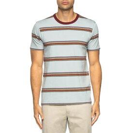 タビック メンズ Tシャツ トップス Norton Shirt Quarry Gray Stripe