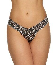 ハンキーパンキー レディース パンツ アンダーウェア Low Rise Signature Leopard Print Lace Thong Brown/Multi