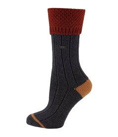 ソレル レディース カジュアルパンツ ボトムス Women's Wool Texture Turn Over Cuff Crew Socks Navy