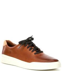 コールハーン メンズ ドレスシューズ シューズ Men's Rally Perforated Suede Sneakers British Tan