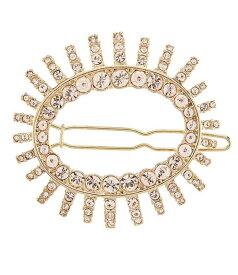 ジバンシー レディース 帽子 アクセサリー Crystal Hair Barrette Gold