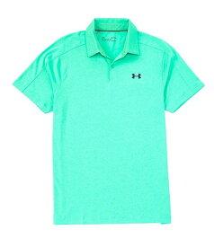 アンダーアーマー レディース シャツ トップス Golf UA Vanish Polo Short-Sleeve HeatGearR Knit Shirt Vapor Green