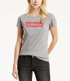 リーバイス レディース Tシャツ トップス Levi'sR Perfect Graphic Logo Tee Grey