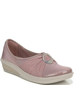 ビジーズ レディース スリッポン・ローファー シューズ Minnie Embellished Jersey Knit Slip On Shoes Dusty Purple/Samba Knit