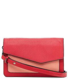 ボトキエ レディース ショルダーバッグ バッグ Cobble Hill Pebble Leather Colorblock Flap Snap Shoulder Bag Pepper/Multi