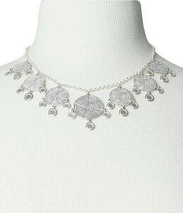 ラッキーブランド レディース ネックレス・チョーカー アクセサリー Modern Metal Layer Statement Necklace Silver