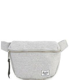 ハーシェルサプライ レディース ショルダーバッグ バッグ Fifteen Zip Around Classic Woven Label Belt Bag Light Grey Crosshatch