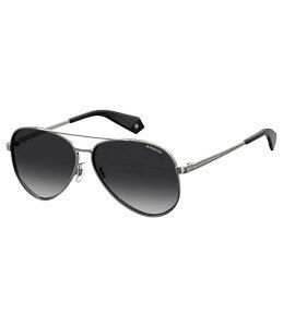 ポラロイド メンズ サングラス・アイウェア アクセサリー Aviator Polarized Sunglasses Gunmetal