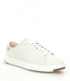 コールハーン レディース スニーカー シューズ GrandPro Leather Tennis Sneakers Optic White