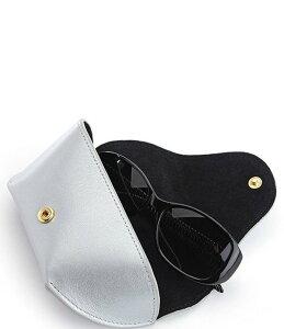 ロイス レディース サングラス・アイウェア アクセサリー Leather Sunglasses Carrying Case Silver