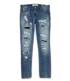 ゲス メンズ デニムパンツ ボトムス Slim Taper Destroyed Jeans Midnight Vintage Wash