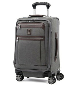 "トラベルプロ メンズ スーツケース バッグ TravelPro Platinum Elite 20"" Expandable Business Plus Carry-On Spinner Vintage Grey"