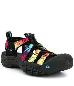 キーン レディース サンダル シューズ Newport Outdoor Water Resistant Performance Sandals Original Tie Dye