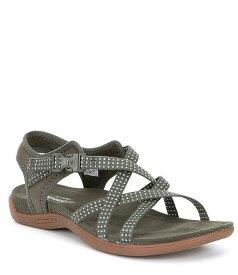 メレル レディース サンダル シューズ District Muri Lattice Outdoor Sandals Dusty Olive