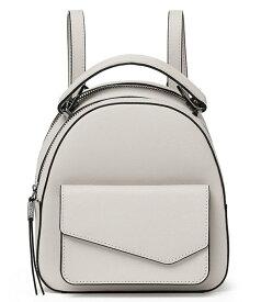 ボトキエ レディース バックパック・リュックサック バッグ Cobble Hill Top Handle Leather Mini Zip Backpack Dove