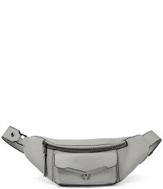 ボトキエ レディース ショルダーバッグ バッグ Valentina Zip Leather Belt Bag Silver