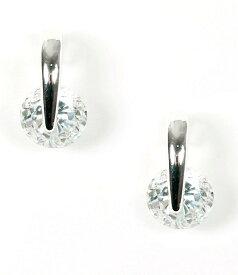 ジバンシー レディース ピアス・イヤリング アクセサリー Crystal Small Drop Earrings Silver