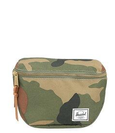 ハーシェルサプライ レディース ショルダーバッグ バッグ Fifteen Camouflage Zip Around Belt Bag Woodland Camo