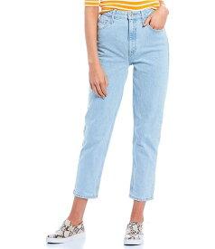 ゲス レディース デニムパンツ ボトムス High Rise Cropped Mom Jeans Amor Light Stone