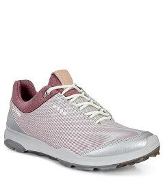 エコー レディース スニーカー シューズ Golf Biom Hybrid 3 GTX Golf Shoes White/Transparent