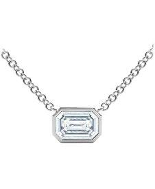 フォーエバーマーク レディース ネックレス・チョーカー・ペンダントトップ アクセサリー Tribute Collection Diamond (1/2 ct. t.w.) Necklace with Mill-Grain in 18k Yellow White and Rose Gold White Gold