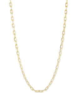 チャームバー レディース ネックレス・チョーカー・ペンダントトップ アクセサリー Link Chain Necklace Adjustable 16 - 20 Gold