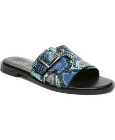 ナチュライザー レディース サンダル シューズ Faryn Slide Sandals Blue Multi Embossed Snake