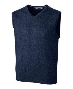 カッターアンドバック メンズ ニット・セーター アウター Cutter and Buck Men's Big and Tall Lakemont Sweater Vest Navy Blue