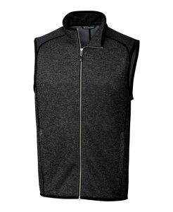 カッターアンドバック メンズ ニット・セーター アウター Mainsail Sweater Vest Charcoal