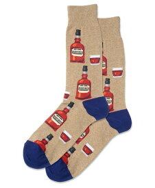 ホットソックス メンズ 靴下 アンダーウェア Men's Socks Whiskey Crew Tan