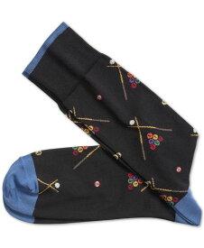 ジョンストンアンドマーフィー メンズ 靴下 アンダーウェア Men's Pool Socks Black